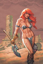 Image: Red Sonja #19 (variant cover - Linsner virgin) - Dynamite