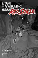 Image: Killing Red Sonja #5 (incentive 1:10 cover - Ward Grayscale) - Dynamite
