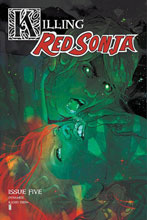 Image: Killing Red Sonja #5 (incentive 1:20 cover - Ward Color) - Dynamite