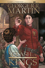 Image: George R.R. Martin: A Clash of Kings #7 (cover A - Miller) - Dynamite