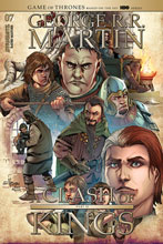 Image: George R.R. Martin: A Clash of Kings #7 (cover B - Rubi) - Dynamite