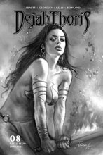 Image: Dejah Thoris Vol. 03 #8 (incentive 1:10 cover - Parrillo B&W) - Dynamite