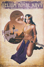 Image: Dejah Thoris Vol. 03 #8 (incentive 1:30 cover - Cosplay Virgin) - Dynamite