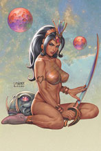 Image: Dejah Thoris Vol. 03] #8 (incentive 1:40 cover - Linsner B&W Virgin) - Dynamite