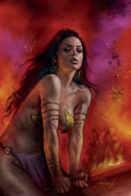 Image: Dejah Thoris [2019] #8 (variant cover - Parrillo virgin) - Dynamite