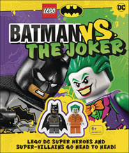Image: Lego Batman vs. Joker  (w/Mini-Figure) - DK Publishing Co