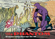 Image: Phantom Complete Sundays Vol. 08: 1963-1966 HC  - Hermes Press
