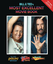Image: Bill & Ted's Most Excellent Movie Book HC  - Insight Editions