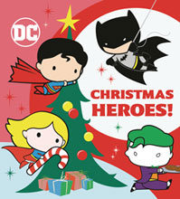 Image: DC Justice League Board Book: Christmas Heroes  - Random House Books Young Reade