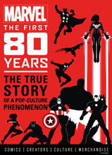 Image: Marvel Comics First 80 Years HC  - Titan Comics