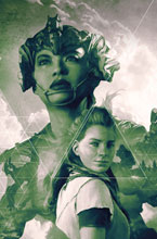 Image: Horizon Zero Dawn #3 (cover D incentive 1:25 - Artgerm B&W Virgin) - Titan Comics