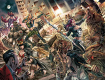 Image: Van Helsing vs. The League of Monsters #6 (cover A - Vitorino) - Zenescope Entertainment Inc