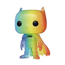 Image: Pop! Animation Vinyl Figure: Pride 2020 DC Heroes - Batman Rainbow  - Funko