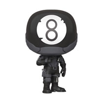 8.25 Inch Skateboard Deck Creature Black-White Damned Mirrored Foil Default, Black