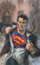 Image: Action Comics #1025 (variant cover - L Parrillo) - DC Comics