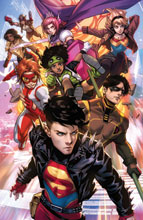 Image: Young Justice #18 (variant Card Stock cover - Derrick Chew) - DC Comics