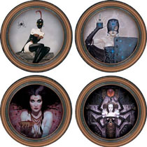 Image: Brom Darkwerks Coaster Set  -