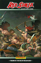 Image: Red Sonja: She-Devil With a Sword Vol. 03 - The Rise of Kulan Gath SC  - D. E./Dynamite Entertainment