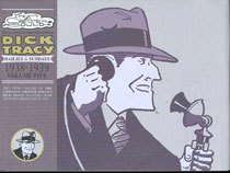 Image: Complete Chester Gould's Dick Tracy Vol. 05: 1938-1939 HC  - IDW Publishing
