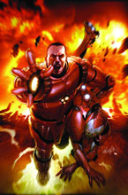 Image: Invincible Iron Man #16 (70th Frame variant) -