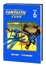 Image: Ultimate Fantastic Four Vol. 06 HC  - Marvel Comics
