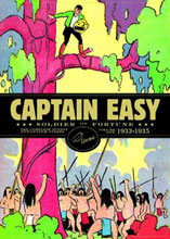 Image: Captain Easy Vol. 01: Soldier of Fortune HC  - Fantagraphics Books