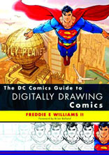 Image: DC Comics Guide to Digitally Drawing Comics SC  -