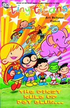 Image: Tiny Titans: First Rule of Pet Club SC  - DC Comics - Johnny DC