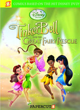 Image: Disney Fairies: Tinker Bell and the Great Fairy Rescue HC  - Papercutz