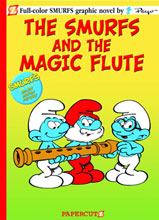 Image: Smurfs Vol. 02: The Magic Flute SC  - Papercutz