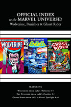 Image: Wolverine, Punisher, & Ghost Rider: Official Index to the Marvel Universe #1 - Marvel Comics