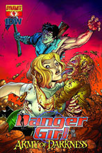 Image: Danger Girl and the Army of Darkness #4 - D. E./Dynamite Entertainment