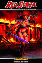 Image: Red Sonja Vol. 09: War Season SC  - D. E./Dynamite Entertainment
