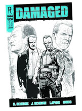 Image: Damaged #1 (cover B: Manco) - Radical Publishing