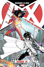 Image: Avengers vs. X-Men #10 (Avengers Team variant cover) (AvX) (v0) - Marvel Comics