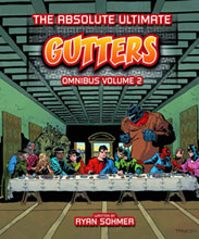 Image: Absolute Ultimate Gutters Omnibus Vol. 02 HC  - D. E./Dynamite Entertainment