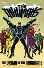 Image: Inhumans: The Origin of the Inhumans SC  - Marvel Comics