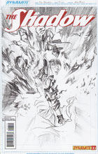 Image: Shadow #17 (25 Copy Ross Sketch incentive cover) - Dynamite