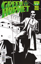 Image: Green Hornet #5 (15-copy Rivera B&W incentive cover) - Dynamite