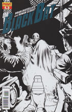 Image: Black Bat #4 (25-copy Tan B&W incentive cover) - Dynamite
