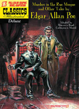 Image: Classics Illustrated Deluxe Vol. 10: The Murders in The Rue Morgue HC  - NBM - Papercutz