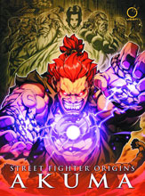 Image: Street Fighter Origins: Akuma HC  - Udon Entertainment Corp