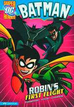 Image: DC Super Heroes Batman Young Readers: Robin's First Flight SC  - Capstone Press