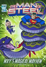 Image: DC Super Heroes Man of Steel Young Readers: Mxy's Magical Mayhem SC  - Capstone Press