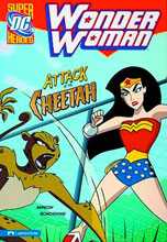 Image: DC Super Heroes Wonder Woman Young Readers: Attack of the Cheetah SC  - Capstone Press