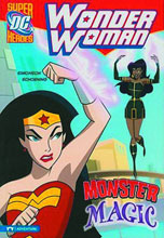 Image: DC Super Heroes Wonder Woman Young Readers: Monster Magic SC  - Capstone Press