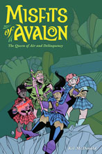 Image: Misfits of Avalon Vol. 01: The Queen of Air and Delinquency SC  - Dark Horse Comics