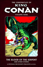Image: Chronicles of King Conan Vol. 09: The Blood of the Serpent and Other Stories SC  - Dark Horse Comics