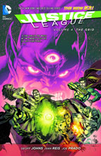 Image: Justice League Vol. 04: The Grid SC  (N52) - DC Comics
