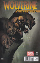 Image: Wolverine Annual #1 (variant cover - McGuinness) - Marvel Comics